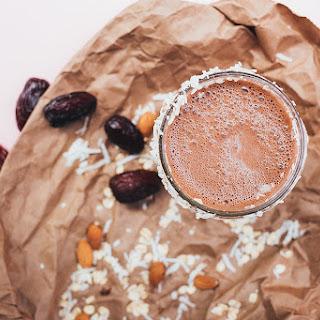 Almond Joy Shake with Hemp Protein