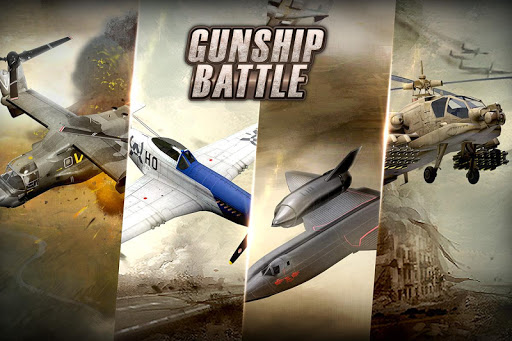 GUNSHIP BATTLE: Helicopter 3D  gameplay | by HackJr.Pw 4