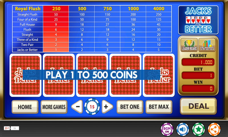 online casino video poker  android
