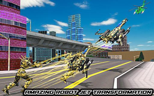 US Army Robot Transformation Jet Robo Car Tank War 1.2 screenshots 8