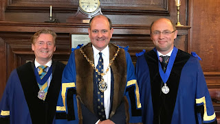 New Wardens Barry Theobald-Hicks and Mark Watson-Gandy 18 July 2019