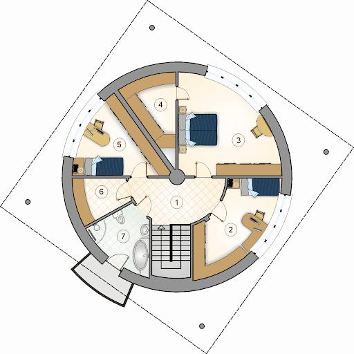 Tuba - Rzut piętra
