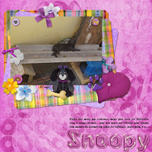 Photo: My Little Dog by ScrapDesafios Fonts Forte and OCR A Std PS CS5