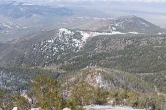 Photo: Looking down our approach to Peak 10,112