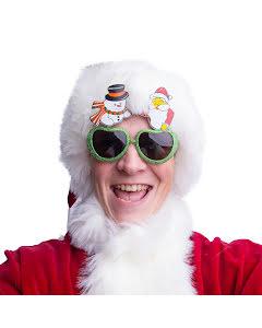 Glasögon, Snögubbe & Jultomte