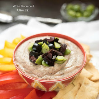 White Bean and Olive Dip