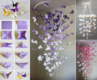 How To Make Paper Butterfly Wall Decor Screenshot Thumbnail