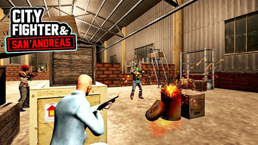 City Fighter and San Andreas 1.1.1 screenshots 3