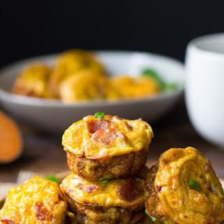 Sweet Potato Bacon Egg Muffins {Paleo & Whole30}