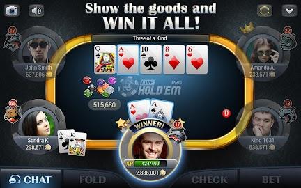 Live Hold'em Pro – Poker Games Screenshot 10
