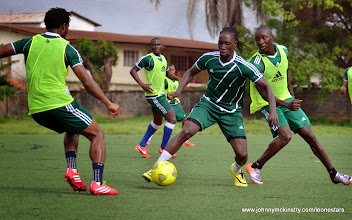 Photo: Ibrahim Kallay  [Training Camp ahead of Leone Stars v Swaziland Game on 31 May 2014 (Pic: Darren McKinstry)]