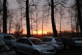 Photo: Au lever du soleil pour un 6 Km.