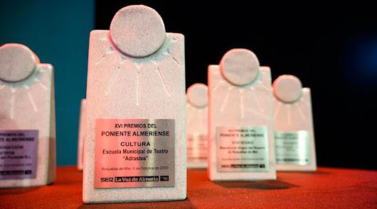 Galardones de una anterior edición de los Premios Poniente que concede LA VOZ.