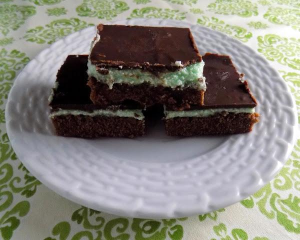 Chocolate Mint Brownies Recipe