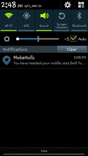 Mobile Addiction Meter