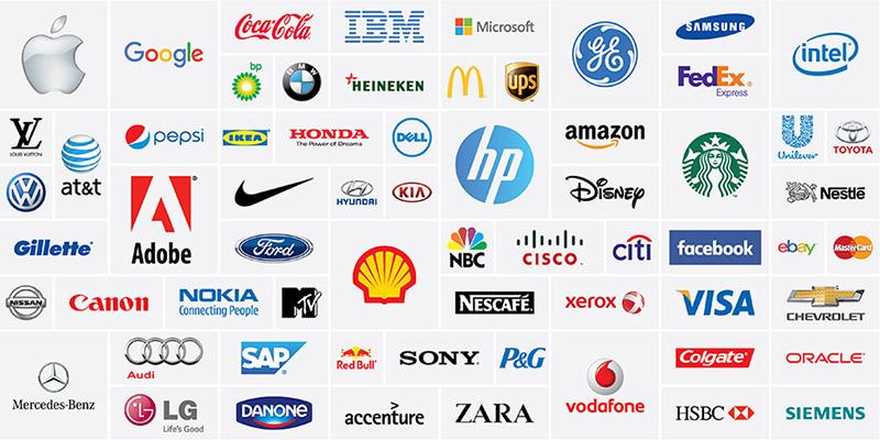 Những logo đơn giản nổi tiếng trên thế giới
