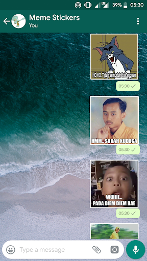 MEME Indonesia WA Stickers 1.0 screenshots 3