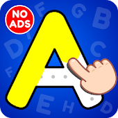 ABC Tracing & Phonics Game for Kids & Preschoolers