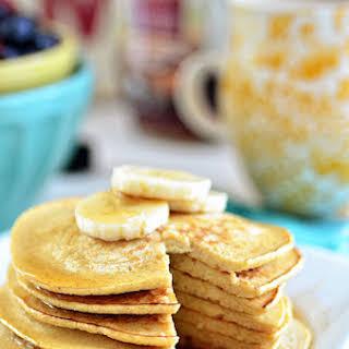 Oatmeal Banana Bread Pancakes.