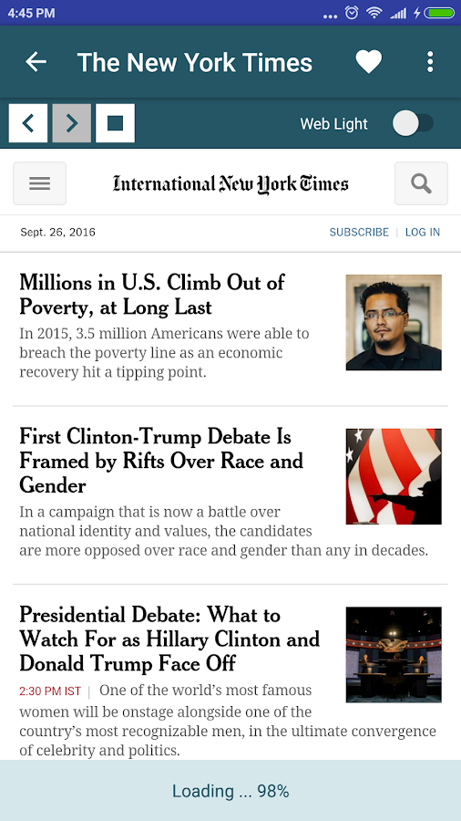 News & Newspapers USA- screenshot