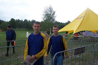 Photo: Братья Кели после финиша. Они четвертые