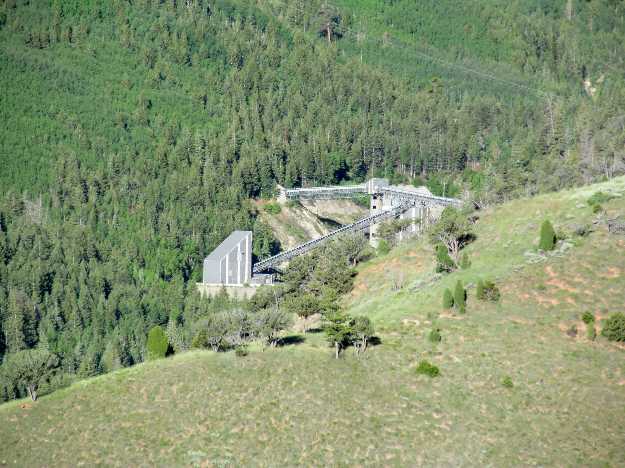 Photo: Crandall Canyon Mine