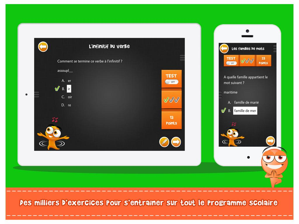 Itooch fran ais cm1 android apps on google play - Open office android francais ...