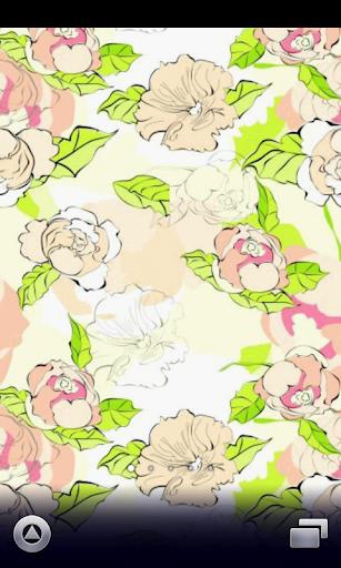 elegant flower wallpaper ver2