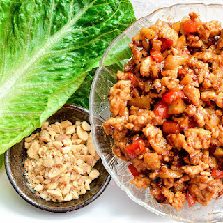 Asian Chicken Lettuce Wraps (better than P.F. Chang's)!.