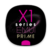 X1S Prime Pinky EMUI 5 Theme (Black) Android APK Download Free By Absoft Studio