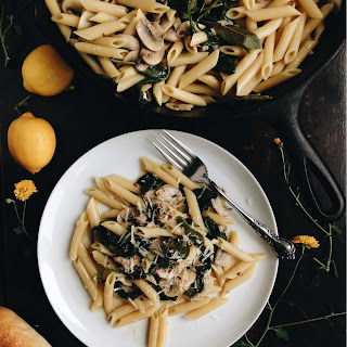 One-Pan Brown Butter and Sage Pasta.