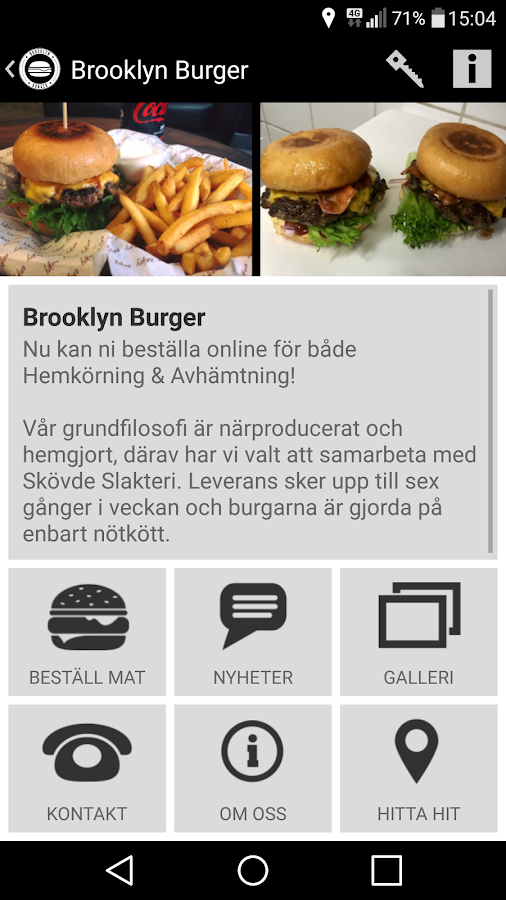 Brooklyn Burger- screenshot
