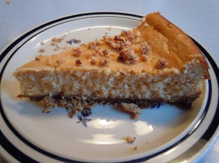 WHITE CHOCOLATE PUMPKIN CHEESECAKE Recipe