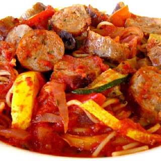 Slow Cooker Spicy Sausage Stew Recipe