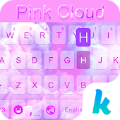 Pink Cloud Kika Keyboard Theme