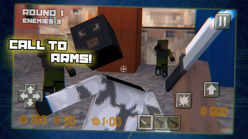 Cube Army Sniper Survival