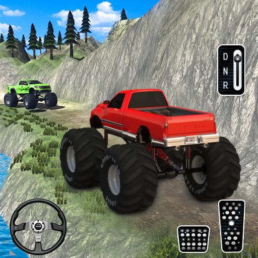Offroad Monster Truck Hill Race