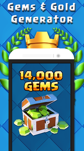 Gems & Gold Clash Royale Prank for PC