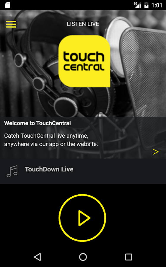Touch Central- screenshot