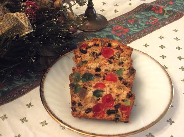 Christmas Fruit Cake.Carolyn S Christmas Fruitcake