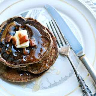 Buckwheat Pancakes With Brown Sugar And Bacon
