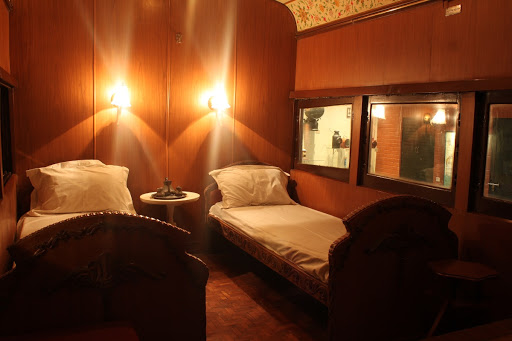 Bed Room inside the Coach