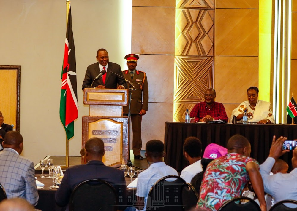 Graft war: I'll fight you whether you are my friend, political ally -Uhuru
