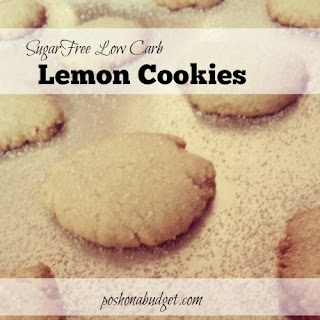 Sugar-Free Low Carb Lemon Cookies