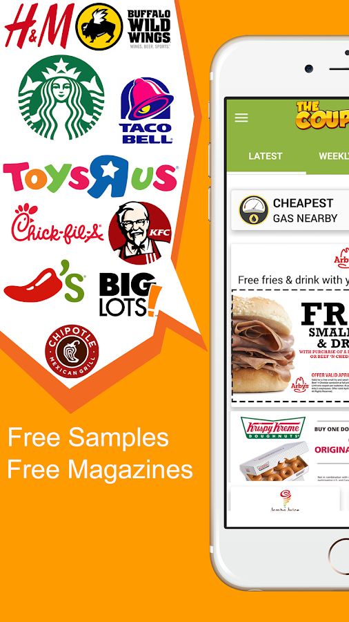 The Coupons App- screenshot