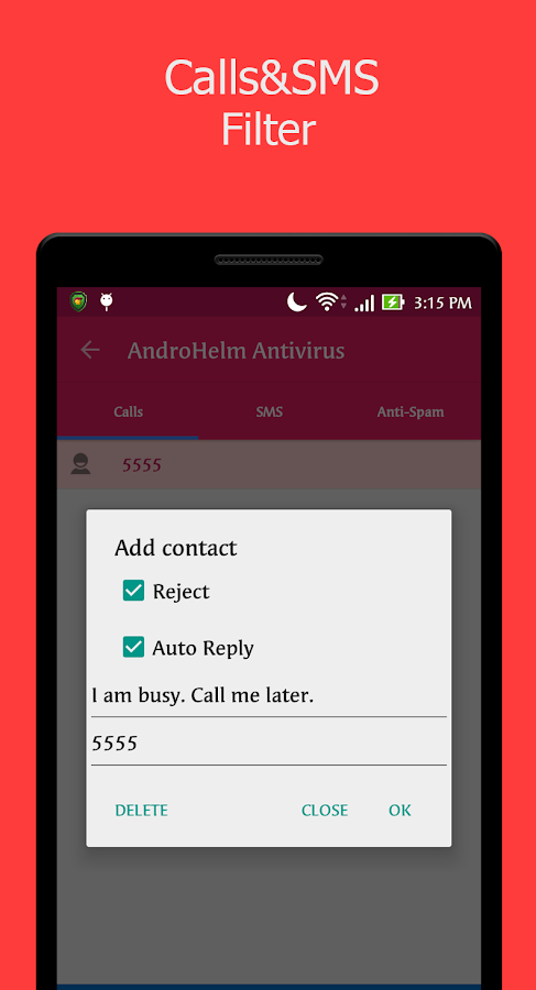 AntiVirus for Androids- screenshot