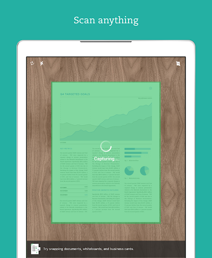 Screenshot 9 for Evernote's Android app'