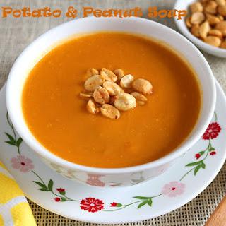 Sweet Potato and Peanut Soup