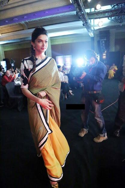 Deepika Padukone on saree, Deepika Padukone at NDTV Awards