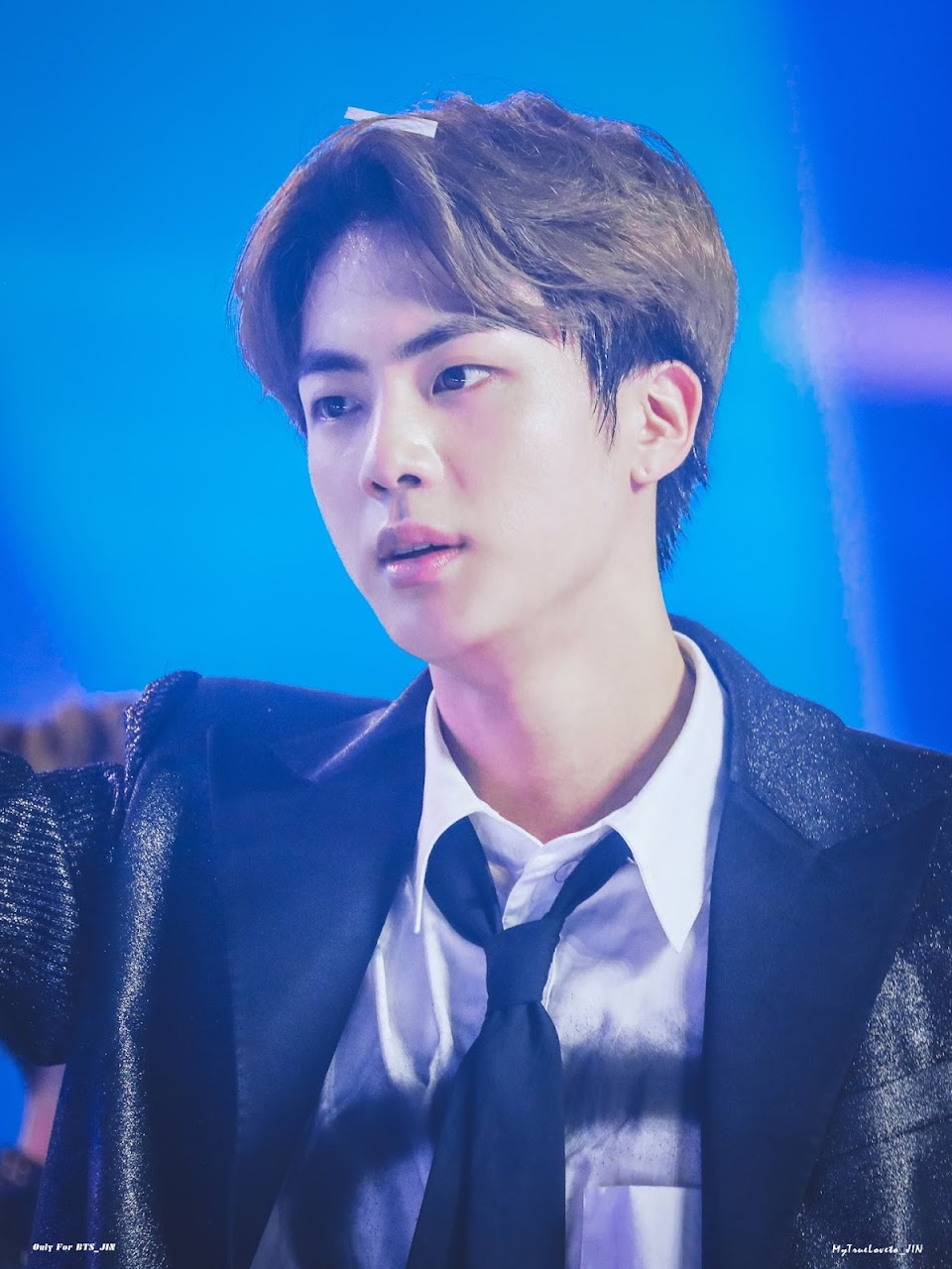 BTS Jin Silver Jacket